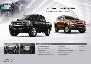 2016-Isuzu-D-MAX- -MU-X-Intergrated-Navigation